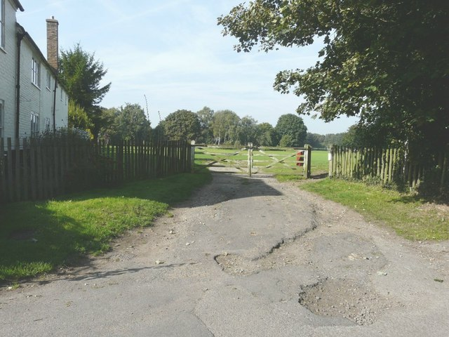 The entrance to the recreation ground