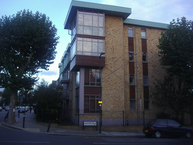 Flats on the corner of Crediton Road, Kensal Rise