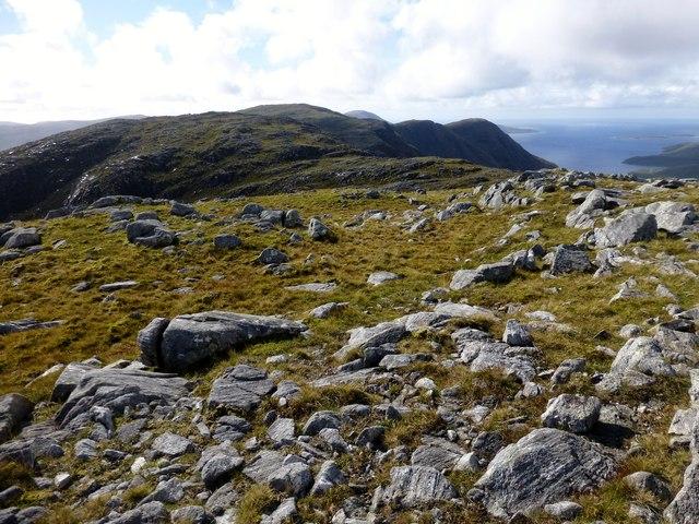 View Towards Beinn na Teanga
