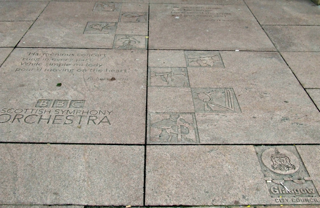 City Halls pavement sculpture