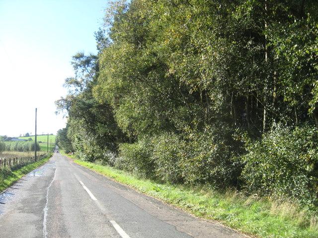 Road to Carmichael in Lanarkshire