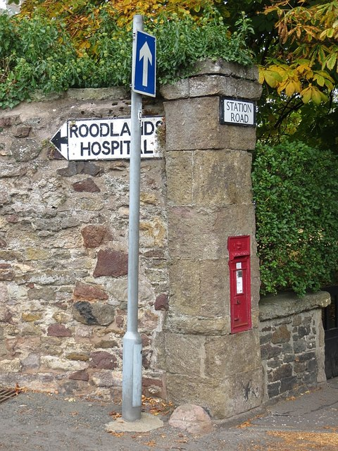 Old sign, Haddington
