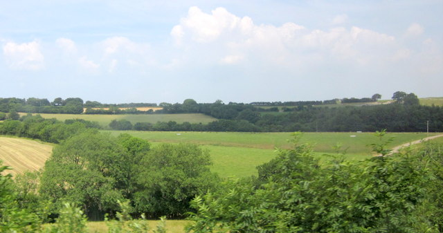 Farmland southeast of Heddon