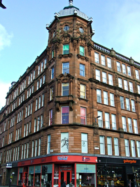 Trongate at Albion Street