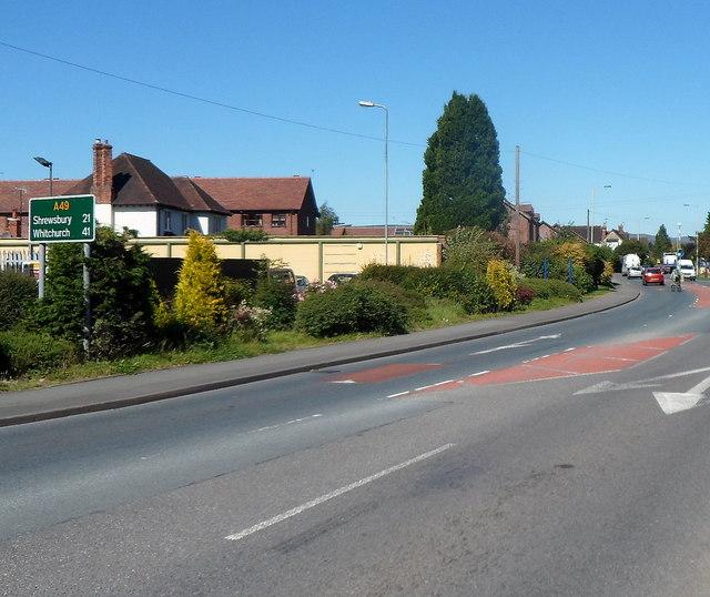 Distances north of Craven Arms