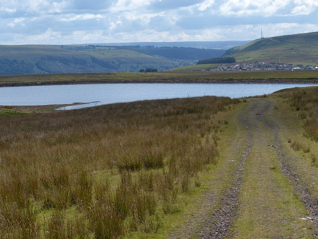 Rhaslas Pond and Fochriw