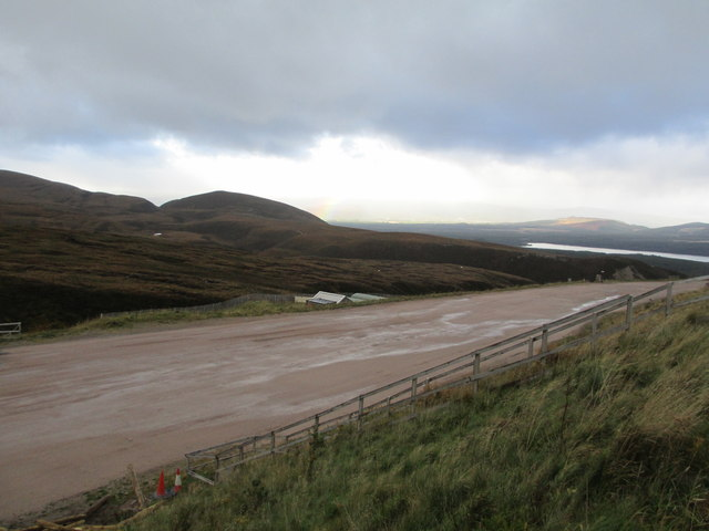 Lower Car Park at Cairngorm Ski Centre