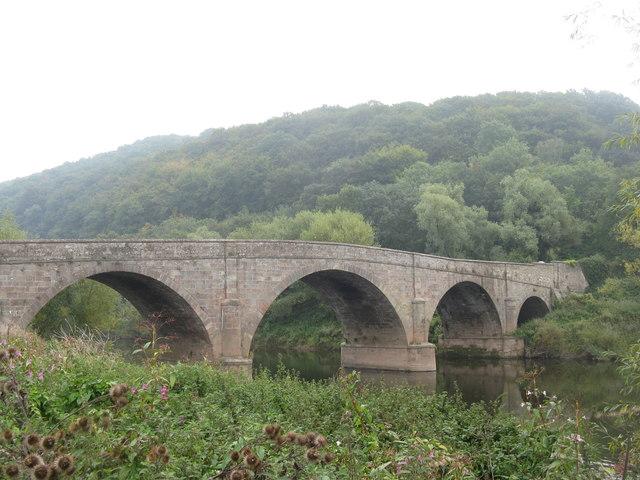 Kerne Bridge crossing the River Wye