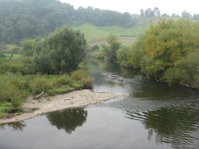 The River Wye  from Kerne Bridge