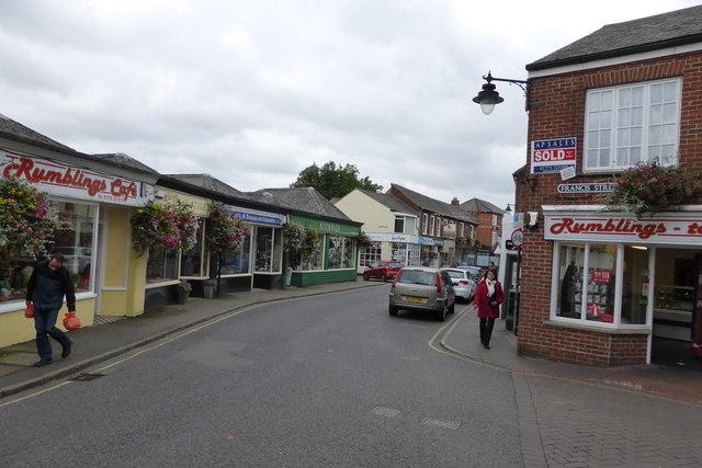 Edwardian shops