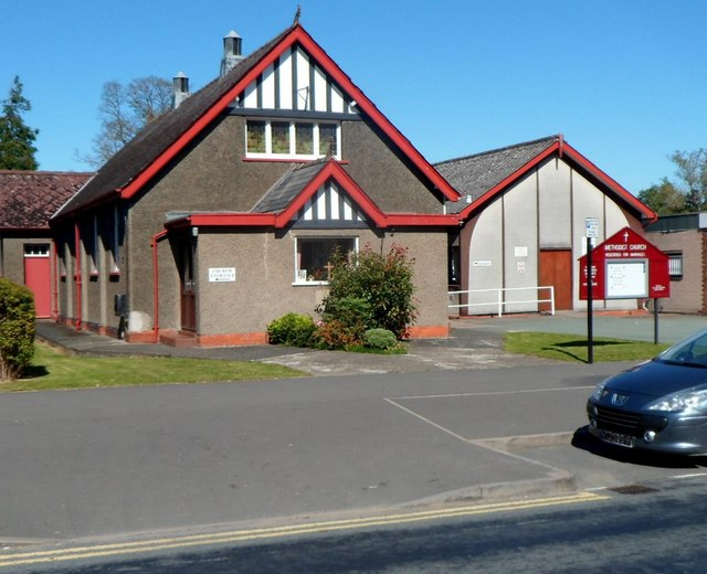 Methodist church and hall, Craven Arms