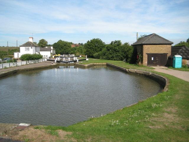 Grand Union Canal: Soulbury Three Locks