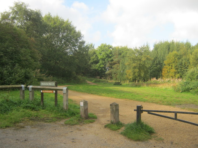Picnic area next to Waskerley Way