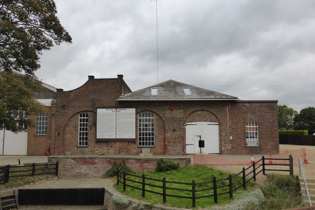 Historic engine house
