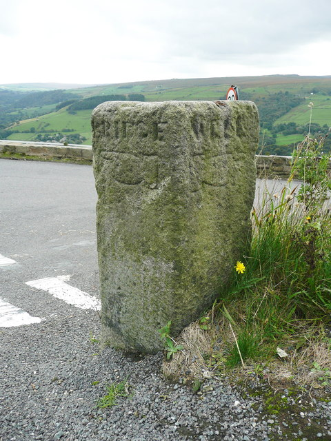 Guide stone at Mount Skip