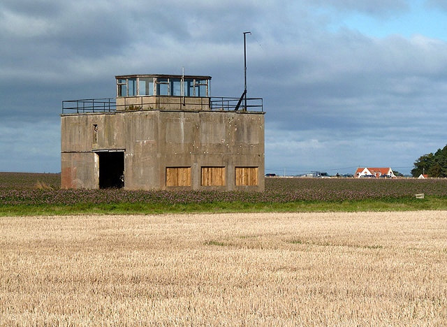 An old RAF building at East Fortune