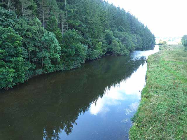 River Tweed near Neidpath