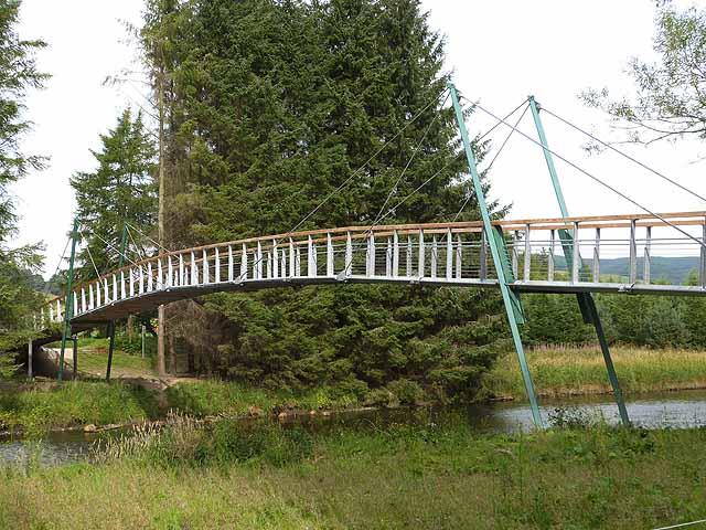 New footbridge over the River Tweed