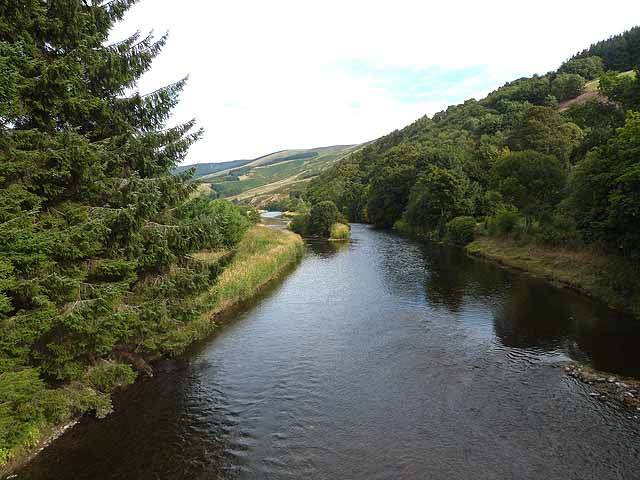 River Tweed near Cardrona
