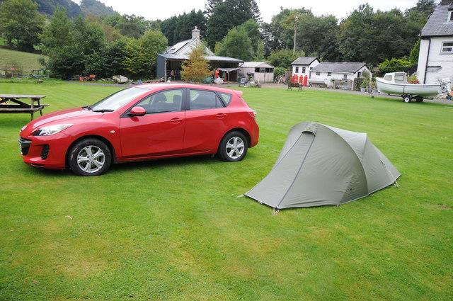 Campsite in Dinas Mawddwy