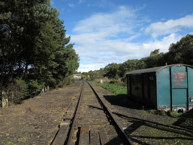 Tanfield Railway at Causey