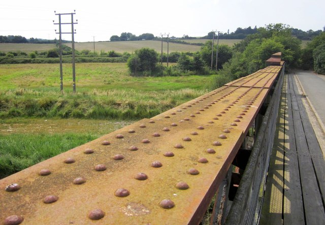 Former railway bridge over the Taw
