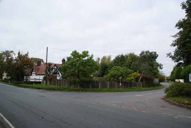 Entrance to Appleton Thorn Trading Estate
