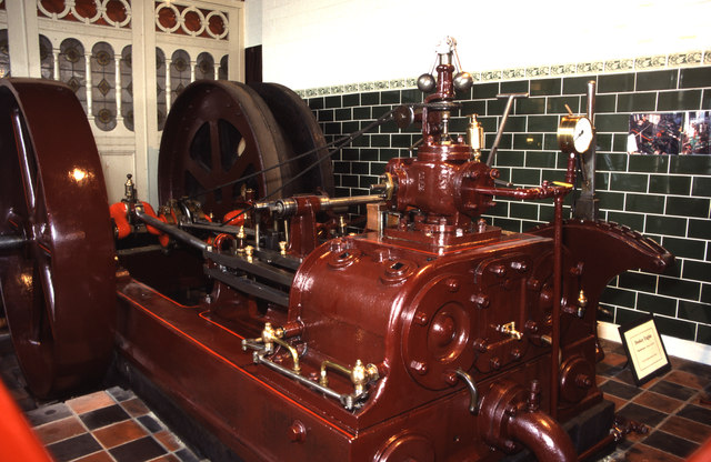 Museum of Lincolnshire Life - Stationary steam engine