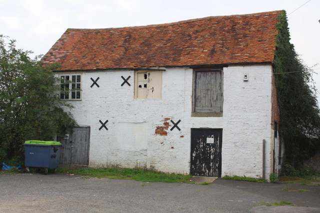 Outbuilding on the west side of The Fox