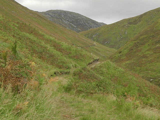 Path heading up An Leth-allt