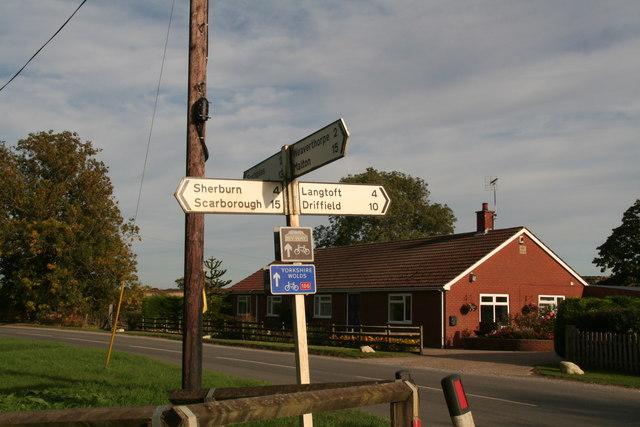 Crossroads in Butterwick