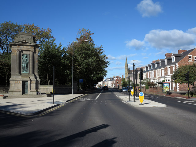 Durham Road heading into Gateshead town centre