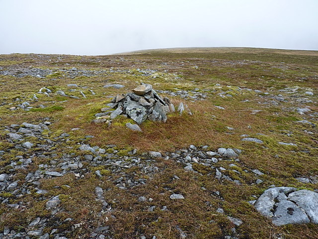 Summit cairn, the South Top