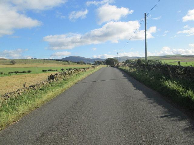 Heading for Carmichael village