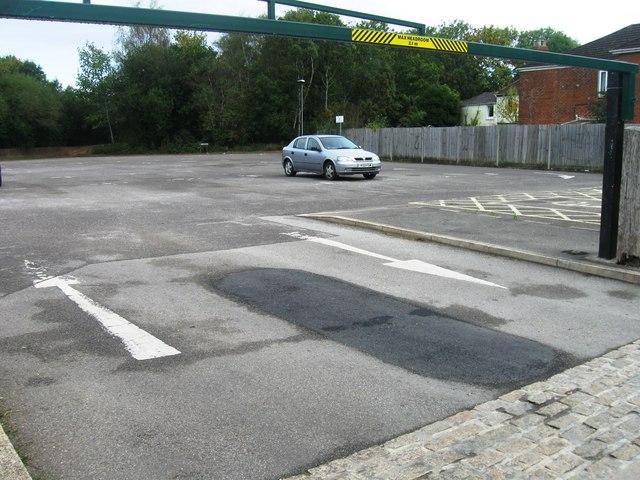 Car park, Totton