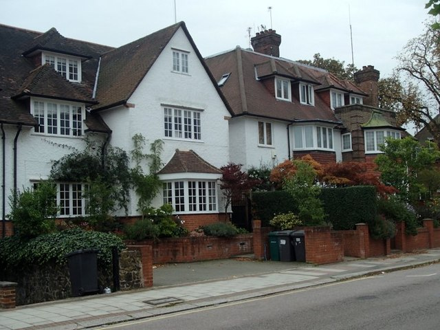 Houses on West Heath Drive, Golders Green