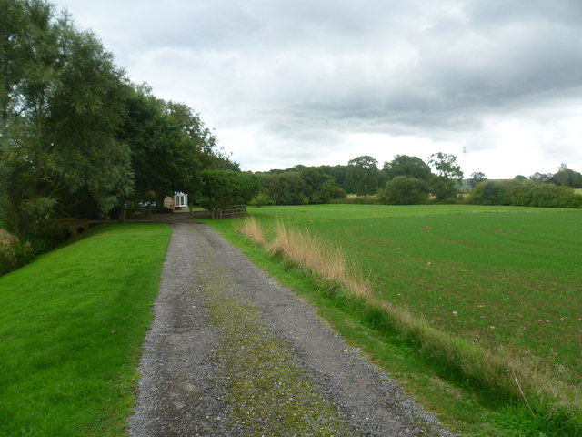 Track to Lower Park Farm