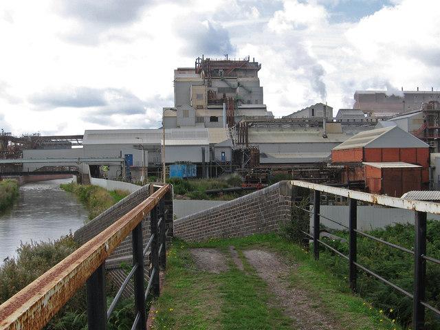 Lostock Gralam - chemical works