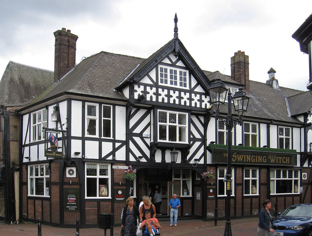 Northwich - The Swinging Witch