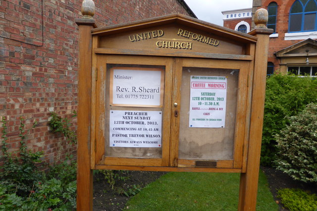 Notices at the URC