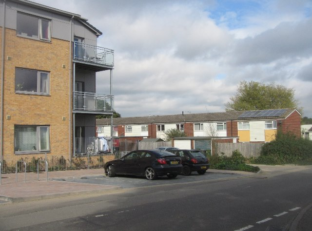 New builds by old builds - Sark Way