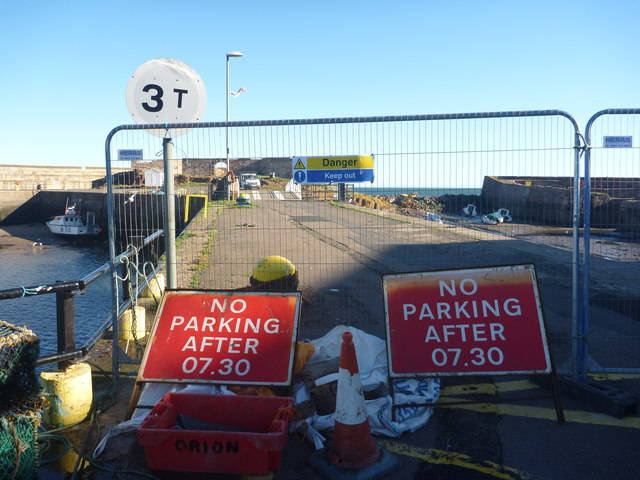 Coastal East Lothian : No Parking After 07.30