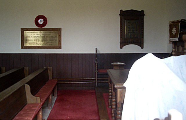 Interior of Upper Cabrach Kirk