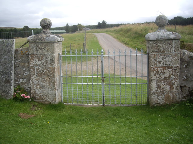 Kirkyard Gates, Upper Cabrach church
