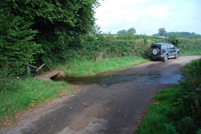 Ford and Broken Bridge at Stowford
