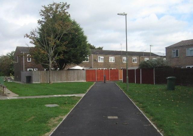 Resurfaced estate path