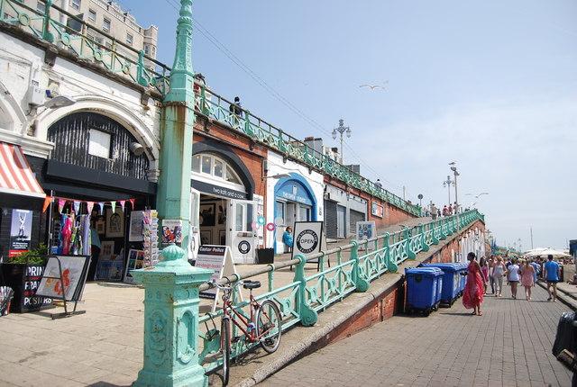 Seafront shops, Brighton