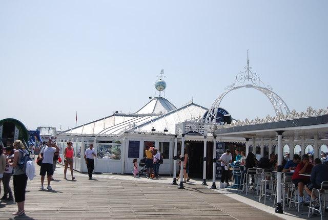 On Brighton Pier