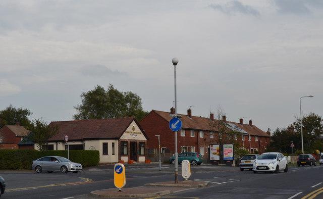 Harbour Lane and Lytham Road Junction, Warton, near Preston