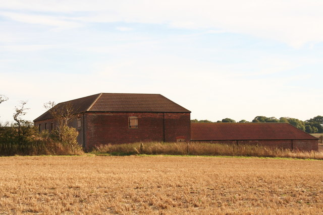 Farm building off Green Lane